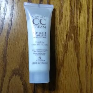 New Cavier CC Cream complexion correction. Hair